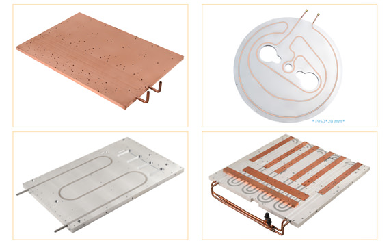 Copper / SUS Tube Liquid Cold Plate