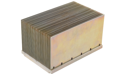 Thermal Conductive Epoxy Bonded Fin Heat Sink